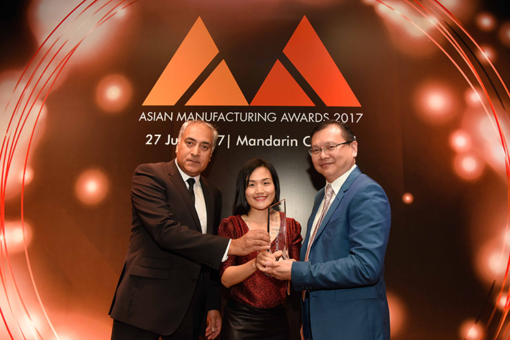 essentra at Asian manufacturing awards